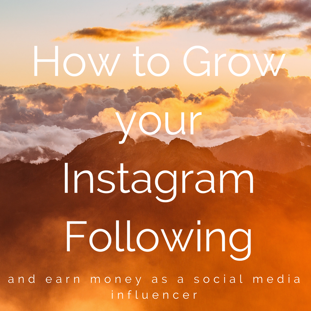 Grow your Instagram Following and become a social media influencer. Learn how you can make money posting on Instagram and the 1 app that earned 2 travel bloggers $25, 000.