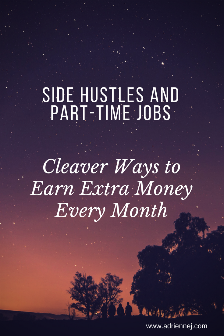 Side hustles and part-time jobs. Cleaver ways to earn extra money every month. Whether you pay off debt or pad your bank account, everyone can use an additional source of income.